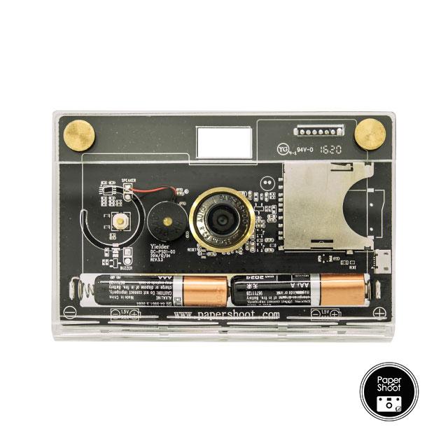 CROZ紙綸晶透前衛相機盒組