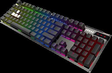 MSI微星-RGB機械電競鍵盤