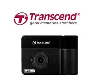 Transcend創見-雙鏡頭行車記錄器