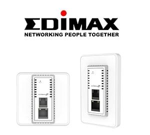 EDIMAX 訊舟 IAP1200 AC1200 雙頻面板式無線基地台
