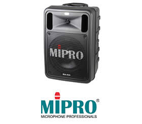 MIPRO嘉強-豪華型手提式無線擴音機