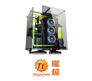 Thermaltake曜越-Core P90 TG 開放式強化玻璃機殼