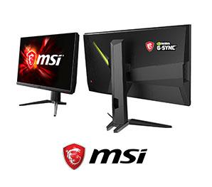 MSI微星-240Hz絕佳流暢感職業玩家首選電競螢幕