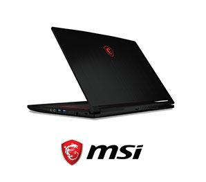 MSI微星-GF63 窄邊框電競筆電