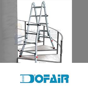 DOFAIR多惠-專業多用途可調式鋁梯 (10呎無限梯)