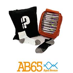 元祥AB65-銅合金抗菌除臭健康襪