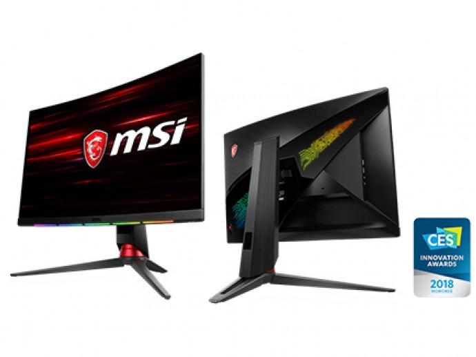 MSI微星科技创新大奖电竞产品现身CES 2018