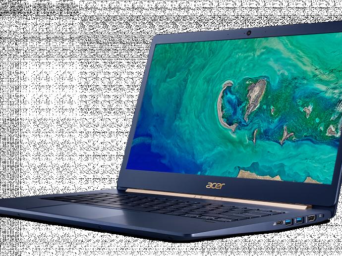 宏碁推出全球最轻15 吋笔电Acer Swift 5