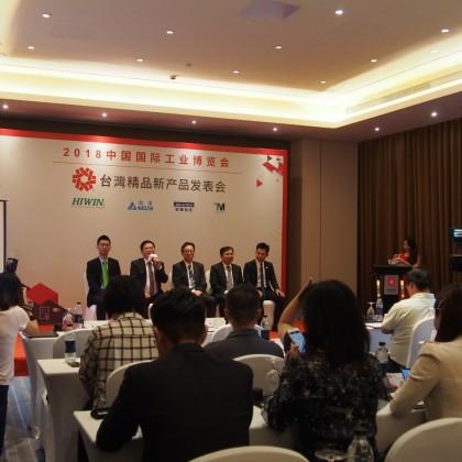 台达电子 机器人产品处产品经理 江振民于会中回答媒体提问