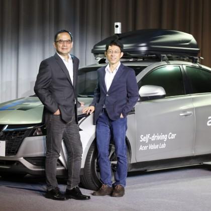 宏碁携手裕隆打造自主研发智驾电动概念车