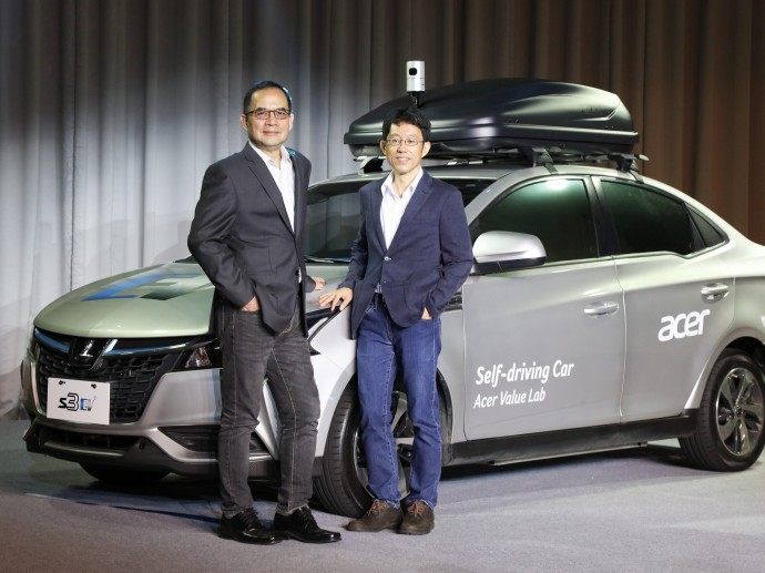 宏碁与裕隆连手打造台湾首部自主研发智驾电动车