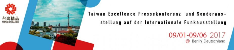 Taiwan Excellence Pressekonferenz  und Sonderausstellung auf der Internationale Funkausstellung