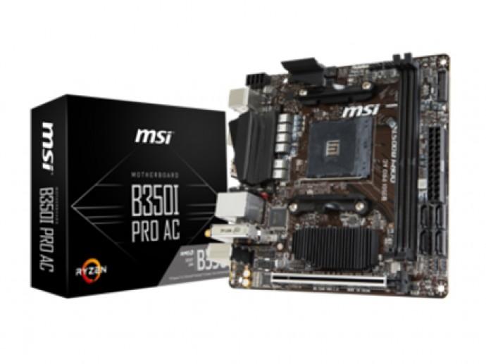 MSI stellt neues Mini-ITX-Motherboard für AMD Ryzen vor