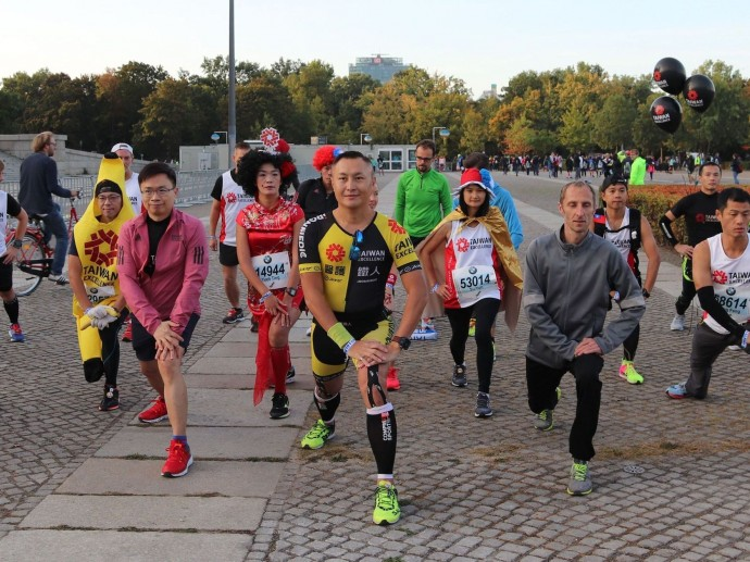 Taiwan Excellence-Marathon-Team auf Berlin Vital 2018 vorgestellt