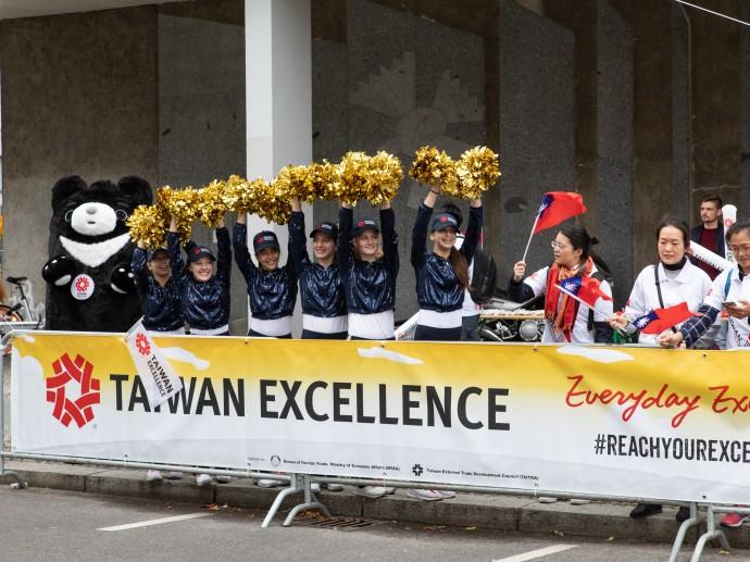 Taiwan Excellence-Team auf MARATHON EXPO 2019 vorgestellt