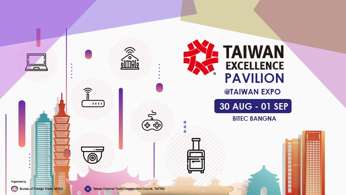 Taiwan Excellence Pavilion at Taiwan Expo Thailand 2018