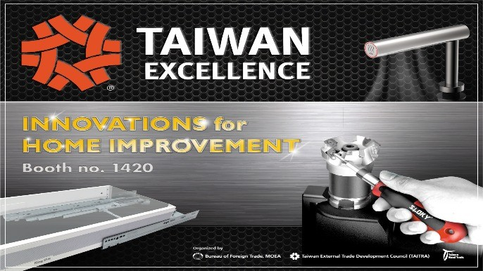 Taiwan Excellence Pavilion at National Hardware Show (NHS) 2019