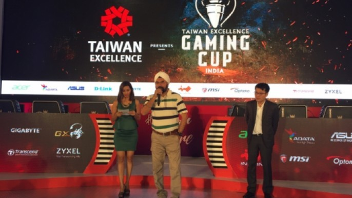 Taiwan Excellence Gaming Cup Press Event