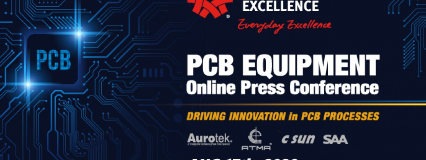 Taiwan Excellence PCB Equipment Online Press Conference
