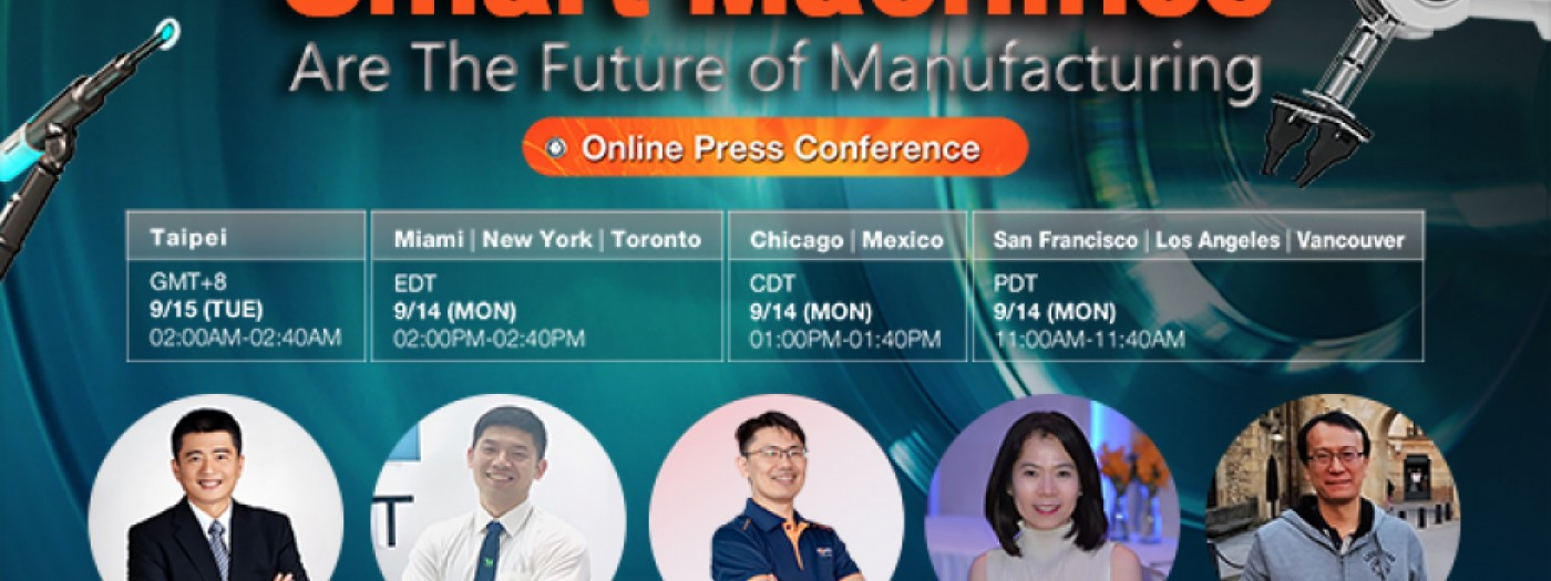 The Smart Machines are the Future of Manufacturing online press conference