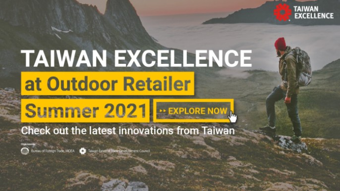 Taiwan Excellence at Outdoor Retailer Summer 2021