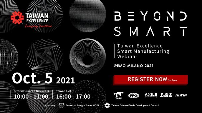 Beyond Smart - Taiwan Excellence Smart Manufacturing Webinar