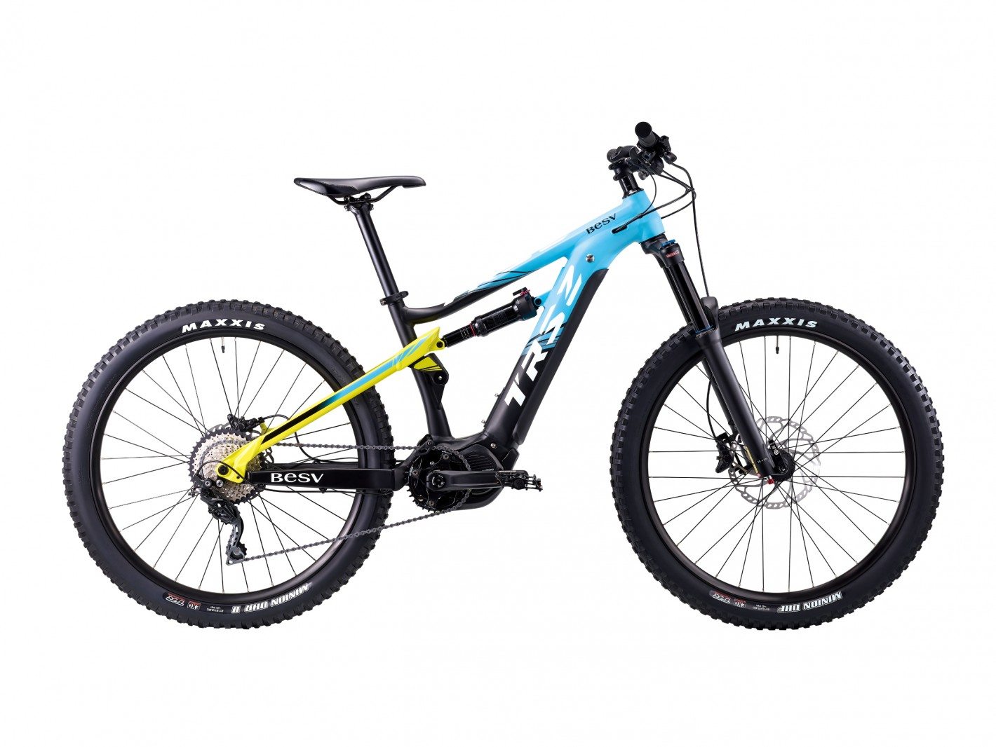 Picture 3: The TRS2 smart mobile mountain bike, made by BESV, won the 2020 Taiwan Excellence Award.
