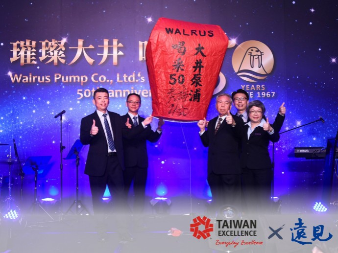 Global Views: Inserting Innovation, Pumping out Excellence. WALRUS Creates a World-Class Brand
