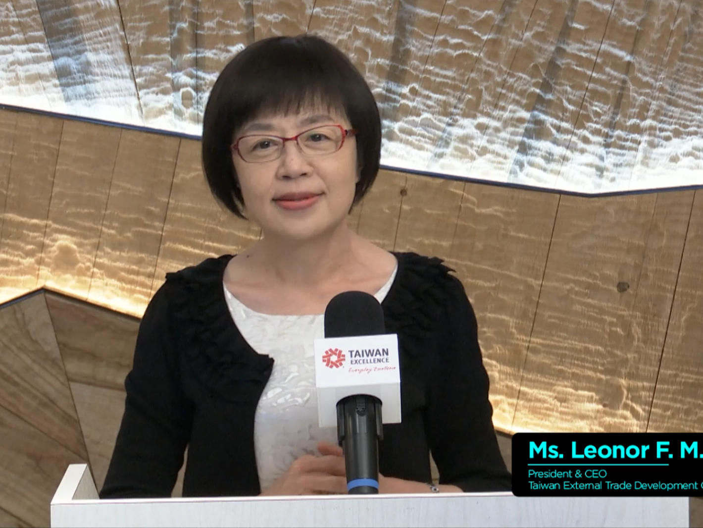 01-Ms. Leonor F. M. Lin, President & CEO of TAITRA delivered opening remarks.