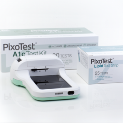 PixoTest® POCT system - Connected Care for Diabetes and Cardiovascular Disease Management