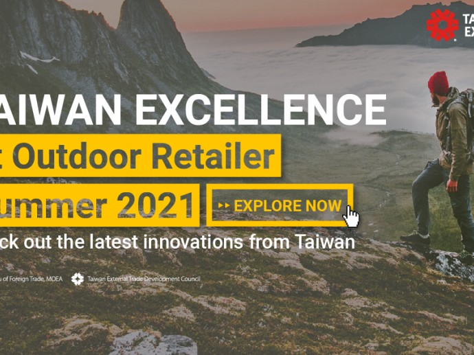 Exploring Every Terrain: Taiwan Excellence to Showcase Outdoor Industry Pioneers at the Outdoor Retailer Summer 2021