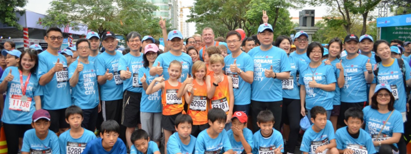 "TAIWAN EXCELLENCE ""DREAMS BIG""  WITH HCMC MARATHON 2018 AND 8,000 PARTICIPATED ATHLETES,  TOWARDS BECOMING THE MOST EXCITING MARATHON OF SOUTHEST ASIA"