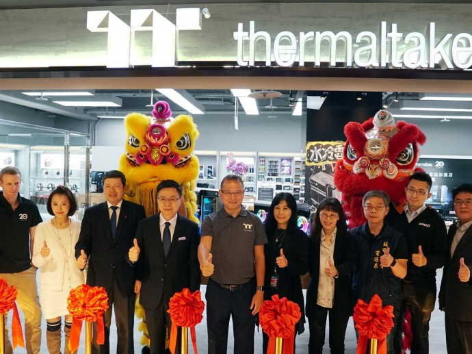 Thermaltake Liquid Cooling Gaming System Flagship Store Grand Opening in Taipei, Taiwan