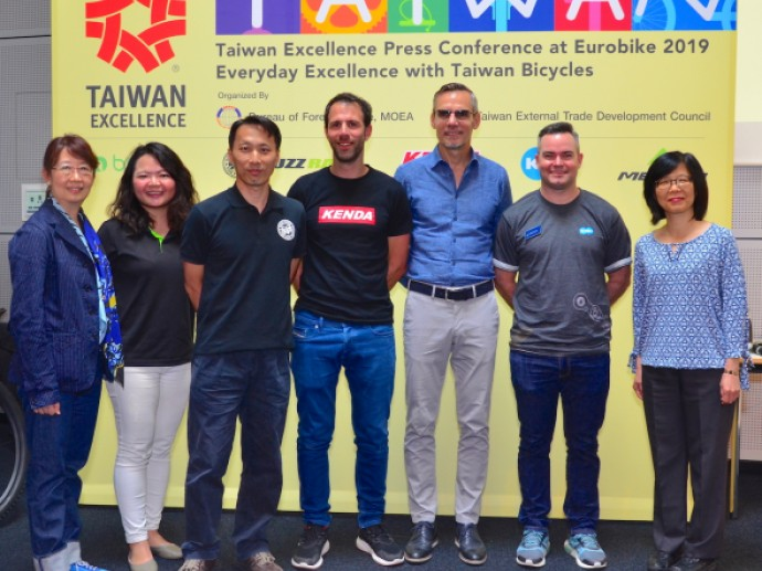 Strong Presence of Taiwan Excellence at Eurobike 2019