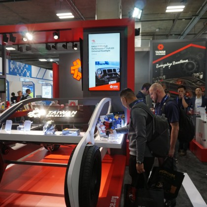 Taiwan Excellence Pavilion at APPEX attracts potential buyers