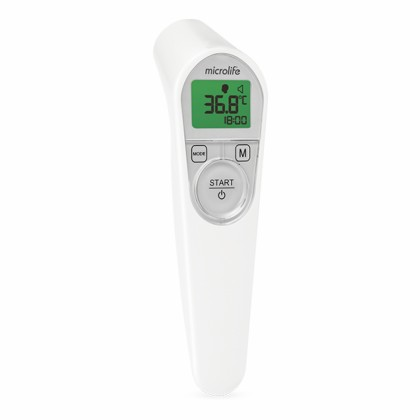 """Figure 1: The Microlife """"non-contact thermometer NC 200""""with auto-measurement and distance control"""