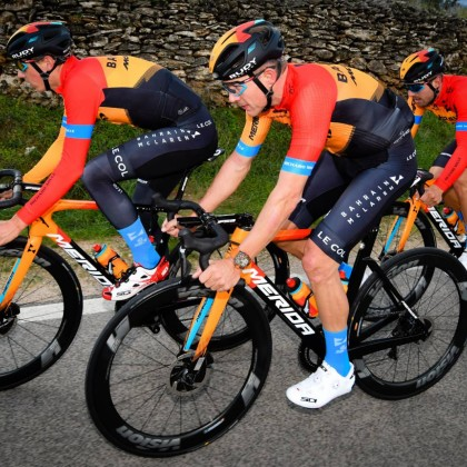 The team sponsored by Merida--Team Bahrain McLaren will participate in the World Tour Pro Teams road bike race this year with three models of Merida's racing bikes: SCULTURA, REACTO and TIME WARP TT.
