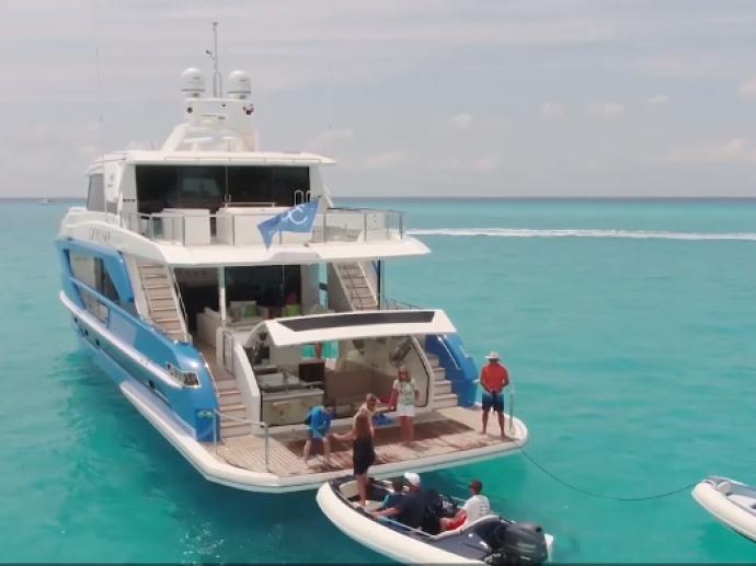 Horizon Yacht- 87feet luxury motor yacht