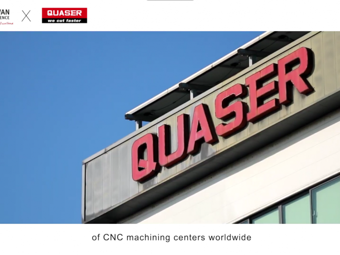 【Taiwan Excellence Smart Machinery】Quaser: Superior Quality & Service Let You Cut Faster