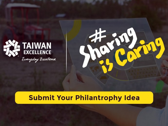 #SharingisCaring - An Initiative by Taiwan Excellence   Taiwan Excellence 台灣精品