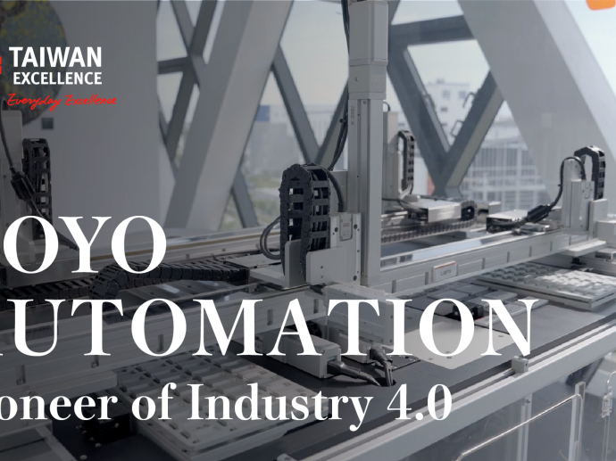 TOYO AUTOMATION-Pioneer of Industry 4.0   Taiwan Excellence台灣精品
