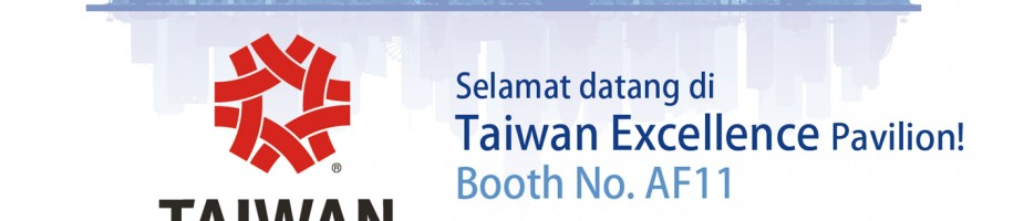 Taiwan Excellence Pavilion @ INDO WATER 2017 Expo @ Forum