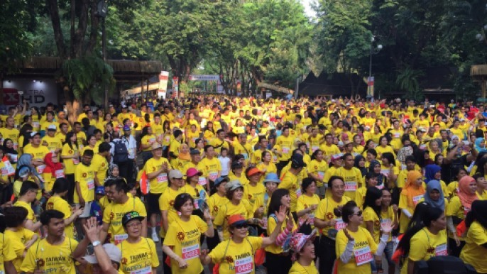 2017 Taiwan Excellence Happy Run @ Jakarta