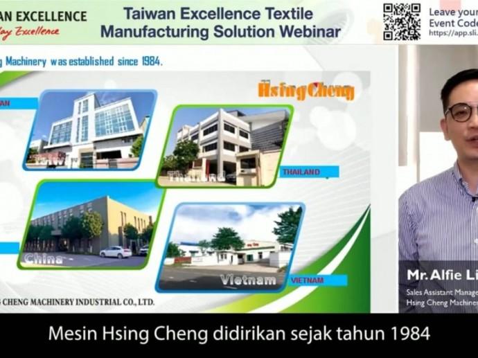 Dukung Industri 4.0,Taiwan Tawarkan Solusi Manufaktur Tekstil