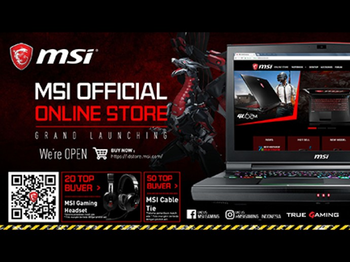 Grand Launching MSI Official Online Store