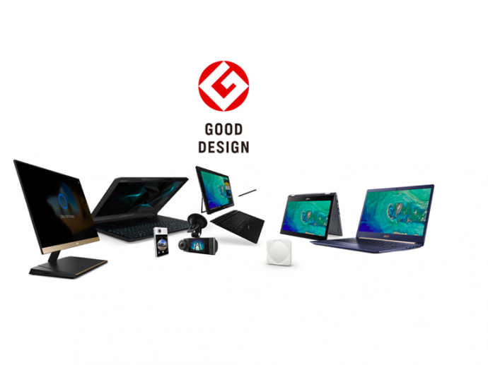 Acer Scores Eight 2017 Good Design Awards