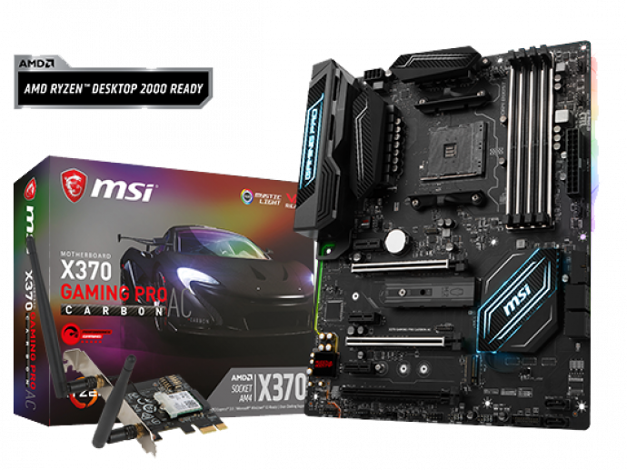 MSI AM4 motherboards are ready for new AMD 2nd generation RYZEN desktop processors