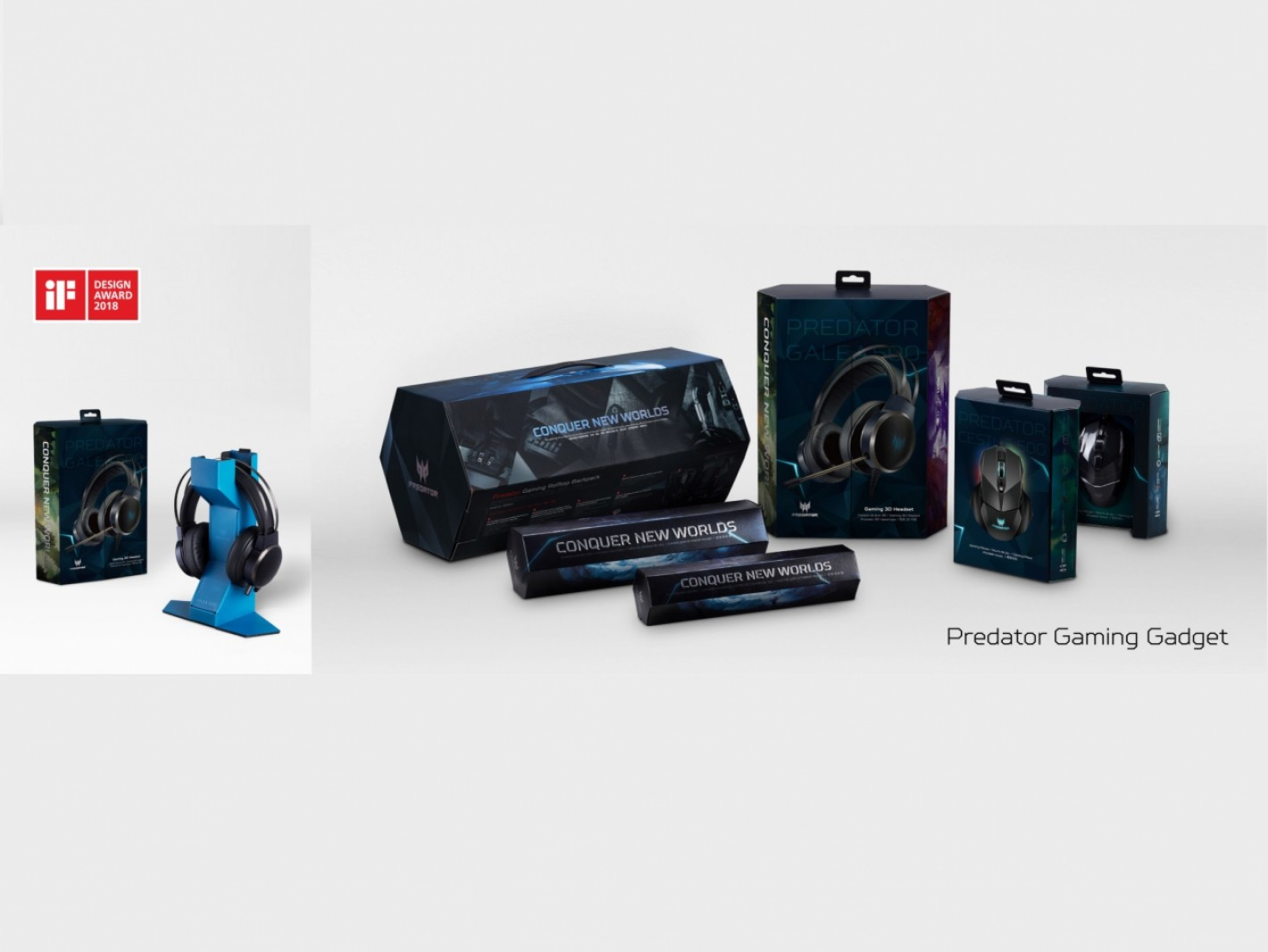 Acer iF Design Award 2018 - Predator Gaming Gadget Packaging
