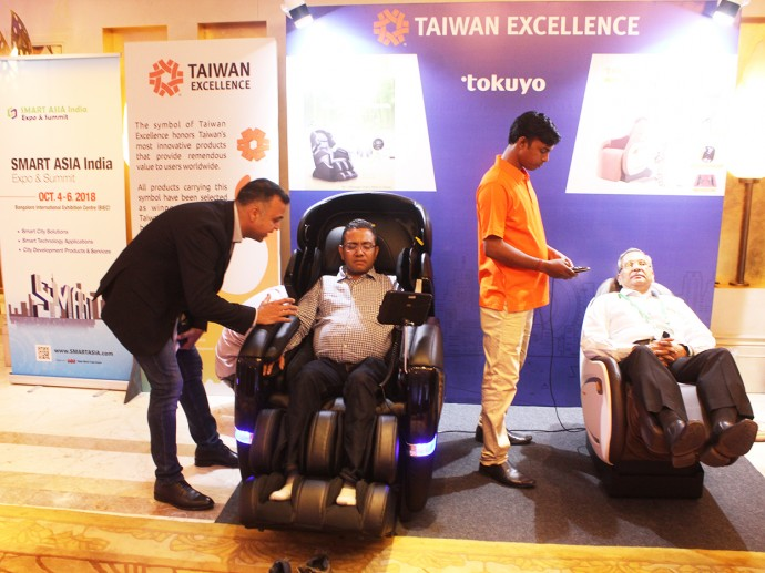 Leading Taiwanese brands showcase first-class technology  at TAITRA new office launch in Delhi