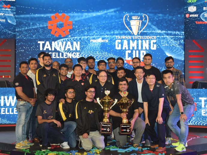This year, fifth edition of the Taiwan Excellence Gaming Cup sees massive participation of over 4,00